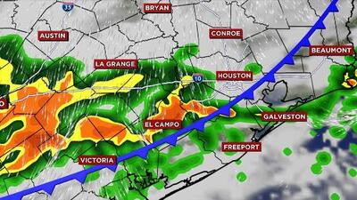 Un nuevo frente frío llegará este miércoles al área de Houston