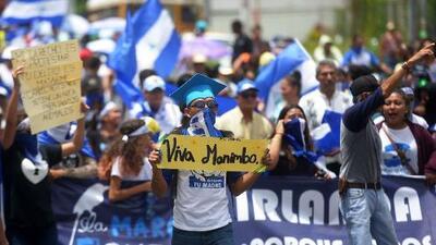 Jóvenes convocan una nueva marcha contra el gobierno de Daniel Ortega en Nicaragua