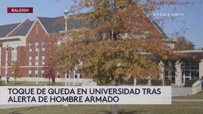 Hombre armado ingresa a una Universidad en Carolina del Norte