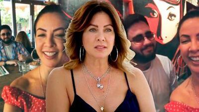 """Diez años después, vuelve a ver a su hijo: así fue el reencuentro de Carmen Batiz con su """"pollito grande"""""""