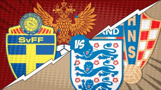 El Cómic: Sin sorpresas, Inglaterra y Croacia avanzan a semifinales
