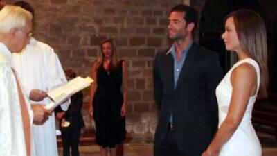 Satcha Pretto sorprende al contar que tuvo una boda secreta con Aaron y muestra por primera vez las fotos