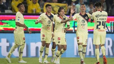 Goles y mejores jugadas: América agravó la crisis de Pachuca con un 3-1 de visitante
