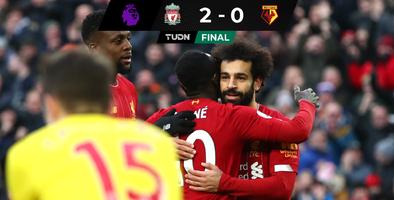 ¡Invencible! Liverpool consigue octavo triunfo al hilo en Premier