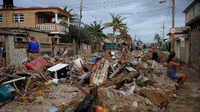 Huracán Irma deja 10 muertos en su paso por Cuba