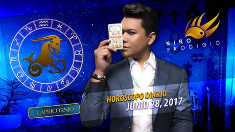 Niño Prodigio - Capricornio 28 de junio 2017