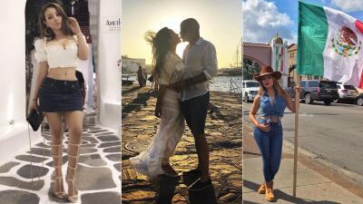 📸 Enamorada y orgullosa de sus raíces, La Bronca disfrutó septiembre viajando