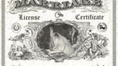 El Condado Harris cuenta con nuevas licencias de matrimonio