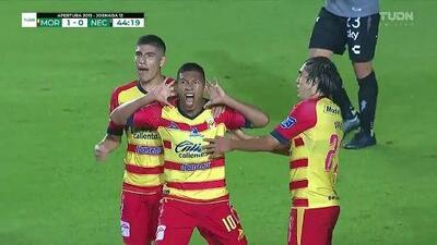 ¡GOOOL! Edison Flores anota para Monarcas Morelia