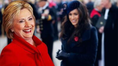 Si Hillary Clinton se encuentra con Meghan Markle de frente, ya sabemos qué le hará