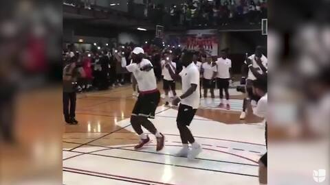 LeBron James conquistó París con este espectacular baile