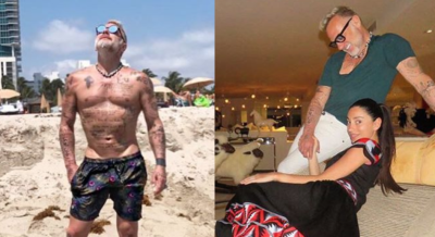 Con ovejas y avestruces: así es la vida en Miami de Gianluca Vacchi, el rey de los bailes en Instagram