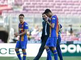 Sergio Busquets fue trasladado al hospital; solo sufre una contusión facial