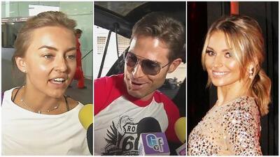 Con Angelique Boyer al lado, Sebastián Rulli le desea mucho sexo a quienes le inventan rumores con Irina Baeva