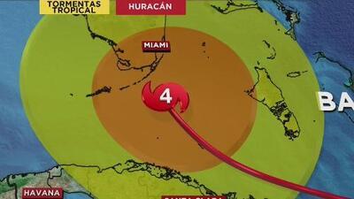Huracán Irma baja a categoría cuatro, pero sigue la alerta por su capacidad de devastación