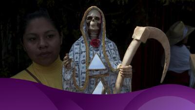 El mito detrás de la Santa Muerte