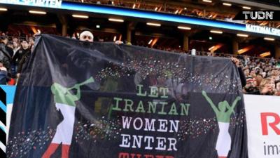 Irán permitirá que mujeres acudan a partido de clasificación