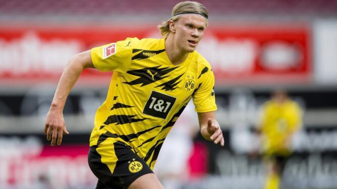 ¡Velocidad pura! Haaland impone marca en la Bundesliga