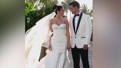 Boda de ensueño: Brandon Peniche y su novia unieron sus vidas en una ceremonia mágica