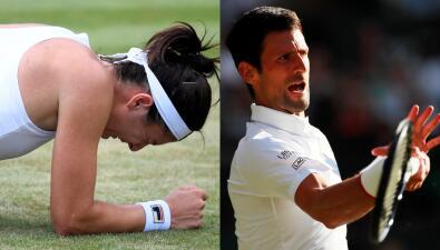 Las lesiones golpearon en Wimbledon, mientras que los grandes mantuvieron paso firme