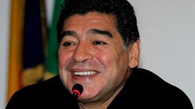 Maradona grabará programa de televisión en Cuba