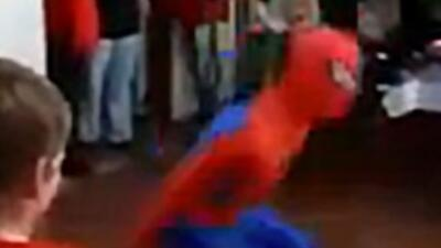 Spider-Man Party Fail