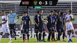 ¡Con un pie en Cuartos de Final! Rayados golea al Atlético Pantoja