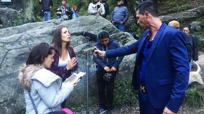 Natasha Domínguez y Mauricio Aspe protagonizaron una dramática escena