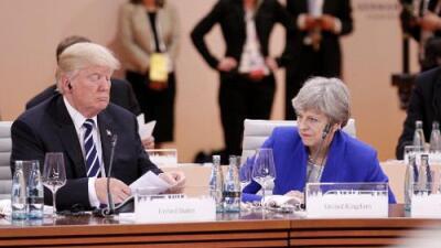 Con la canción 'American idiot' en todas las radios: así recibirán los británicos a Donald Trump
