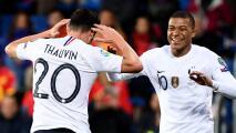 Mbappé reaccionó al fichaje de Thauvin
