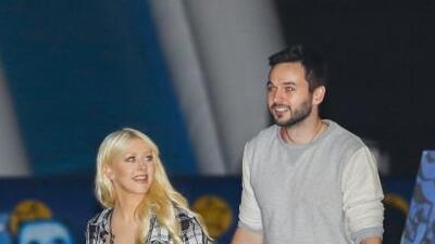 Christina Aguilera le invitó el café a todo el mundo
