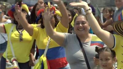 Música, folclor y carrozas: la comunidad colombiana celebra su independencia en Nueva York