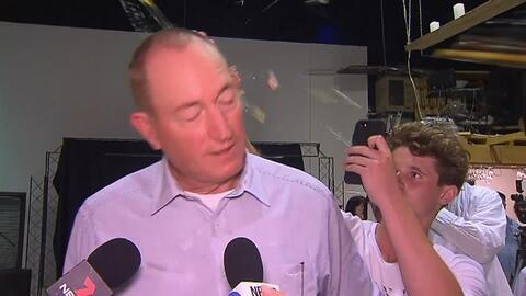 Arrojan un huevo a un senador australiano que culpó a inmigrantes del atentado en Nueva Zelanda