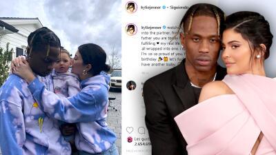"""""""Tengamos otro hijo"""": la invitación de Kylie Jenner a Travis Scott al celebrarle su cumpleaños"""