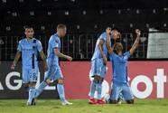 ¡Samba de Héber! NYCFC venció al San Carlos con hat-trick del goleador brasileño