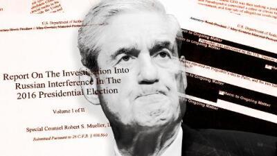 Este es el reporte completo (con tachaduras) del fiscal especial Robert Mueller
