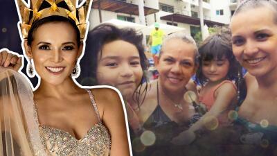 Salen a la luz fotos inéditas de Karla Luna con sus hijas, un año después de su muerte