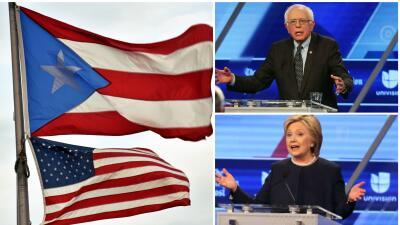 Hillary Clinton y Bernie Sanders comprometidos con reestructurar deuda de Puerto Rico
