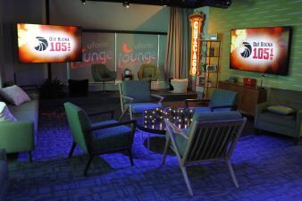 La Inaguración al Uforia Lounge y los nuevos estudios con todo el equipo de Univision Chicago