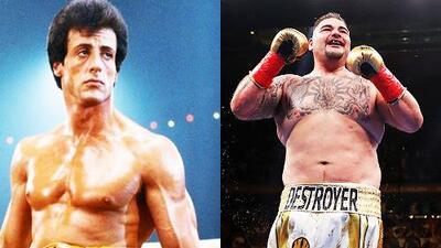 ¿El nuevo 'Rocky'? Checa el tremendo halago de Sylvester Stallone para Andy Ruiz