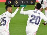 Vinicius le da el empate al Real Madrid ante la Real Sociedad
