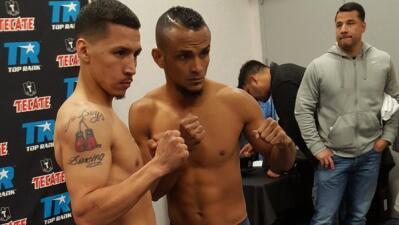 Casey Ramos y Jonathan Pérez listos para 'Solo Boxeo Tecate'