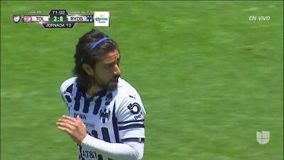 ¡GOOOL! Rodolfo Pizarro anota para Monterrey