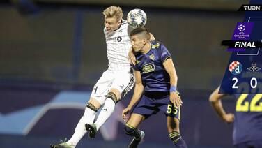 Dinamo Zagreb dio golpe de autoridad y ya ve fase de grupos