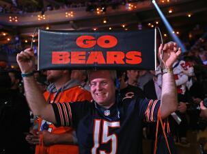 Los Bears se preparan para el draft más importante de la historia de la franquicia