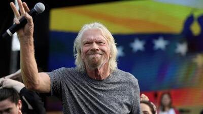 """""""Venezuela fue el país más rico de América Latina y ahora es el más pobre"""": mensaje de Branson desde Cúcuta"""