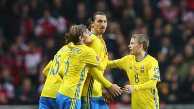 Dinamarca 2-2 Suecia: Ibrahimovic ajusta cuentas con Dinamarca y lleva a Suecia a la Euro