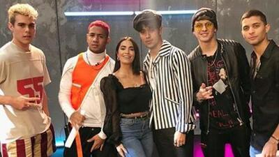 Nerviosos pero llenos de emoción, Lali Espósito y CNCO llegaron con un anuncio especial sobre Premios Juventud