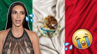 Indignación: Kim Kardashian llora porque teme ser robada en México