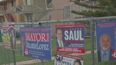 Residentes de Sweetwater se preparan para elegir a tres de sus comisionados y a su nuevo alcalde